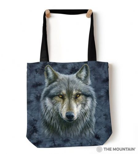 The Mountain® Warrior Wolf Tote Bag